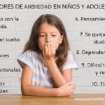 Los 10 signos que nos indican que nuestros hijos sufren ansiedad